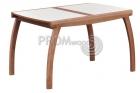 Стол для кухни Лидер плюс (стекло)